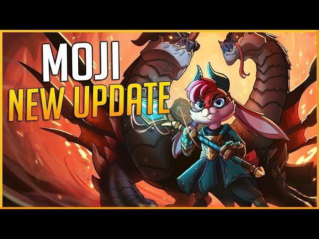 PALADINS 1.4 NEW EVENT: BEST DECK FOR MOJI & NERFED (DRAGON BORN SKIN)!   ZawarudoOW