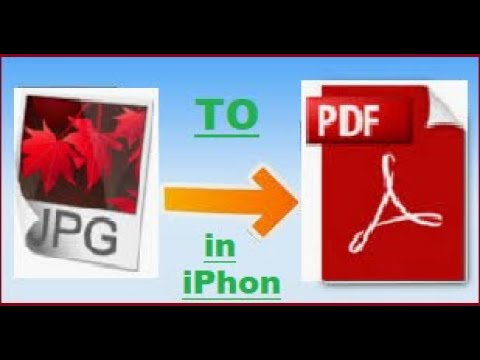 How to convert multiple jpg to pdf file in iPhone