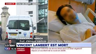 """Vincent Lambert décédé : les avocats des parents dénoncent """"un crime d'État"""""""