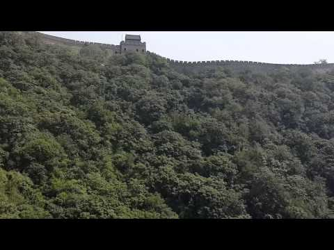 DJ Hel's Cable Car Ride - The Great Wall Of China