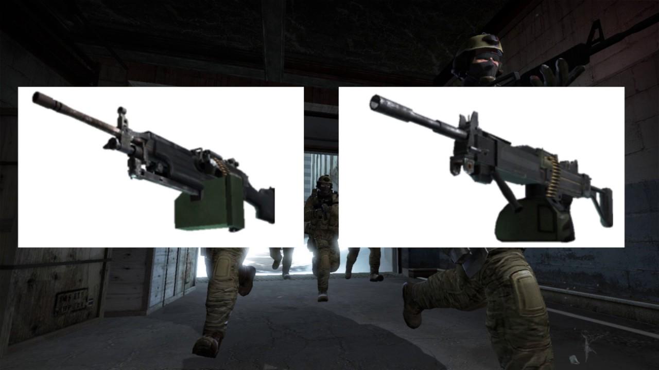 csgo machine gun