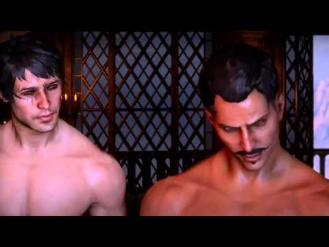 Dragon Age™: Inquisition - Zayn & Dorian gay sex scene!