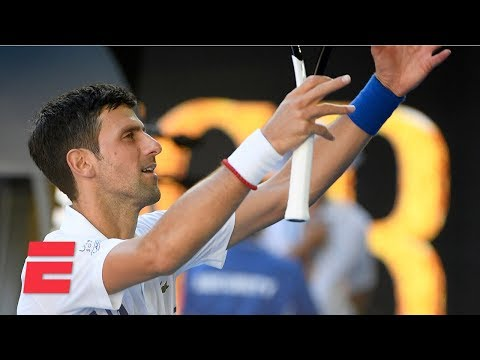 Novak Djokovic marches past Denis Shapovalov to advance to 4th round   2019 Australian Open