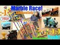 Thomas and Friends Marble Racing Elimination Tournament Race Number 70. Fun Toy Racing Game!