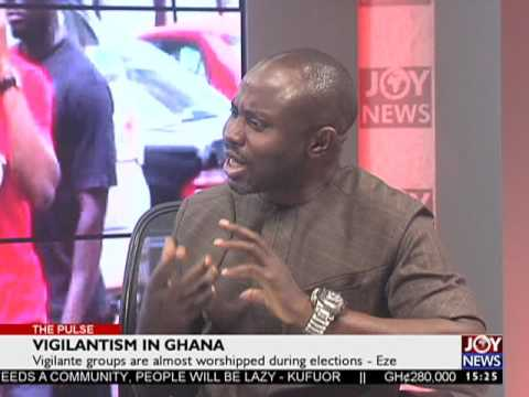Vigilantism in Ghana - The Pulse on Joy News (18-5-17)