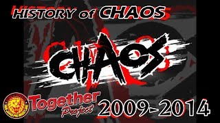 History of CHAOS 2009〜2014
