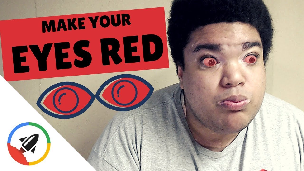 How To Make Your Eye Red 4 Painless Ways Youtube