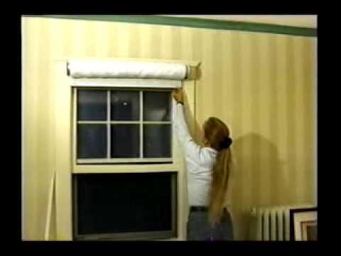 Window Quilt Installation - YouTube : quilted roller shades - Adamdwight.com