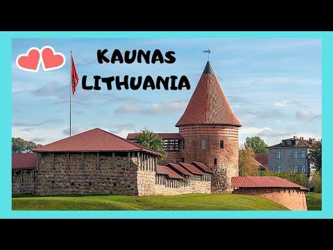 The historic and world famous Kaunas Castle, Kaunas (Lithuania)