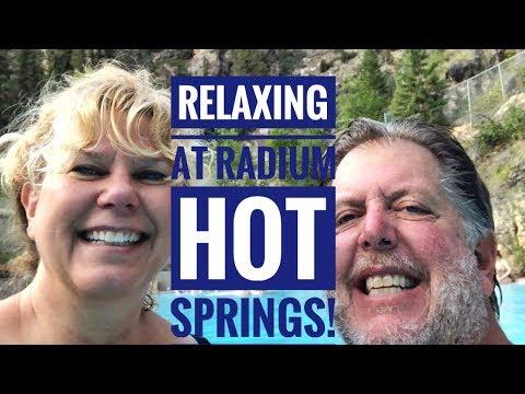 Radium Hot Springs - Made It To Canada!