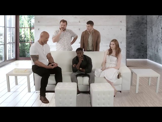 Dwayne The Rock Johnson and his friends made a song of Jumanji