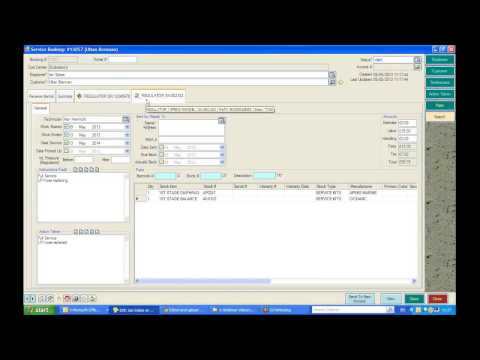 Servicing in EVE   How to Complete a Service Booking and Send it to an Invoice