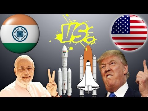 ISRO vs NASA Comparison 2017