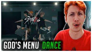 REAGINDO À Stray Kids 神메뉴 GOD'S MENU Dance Practice Video