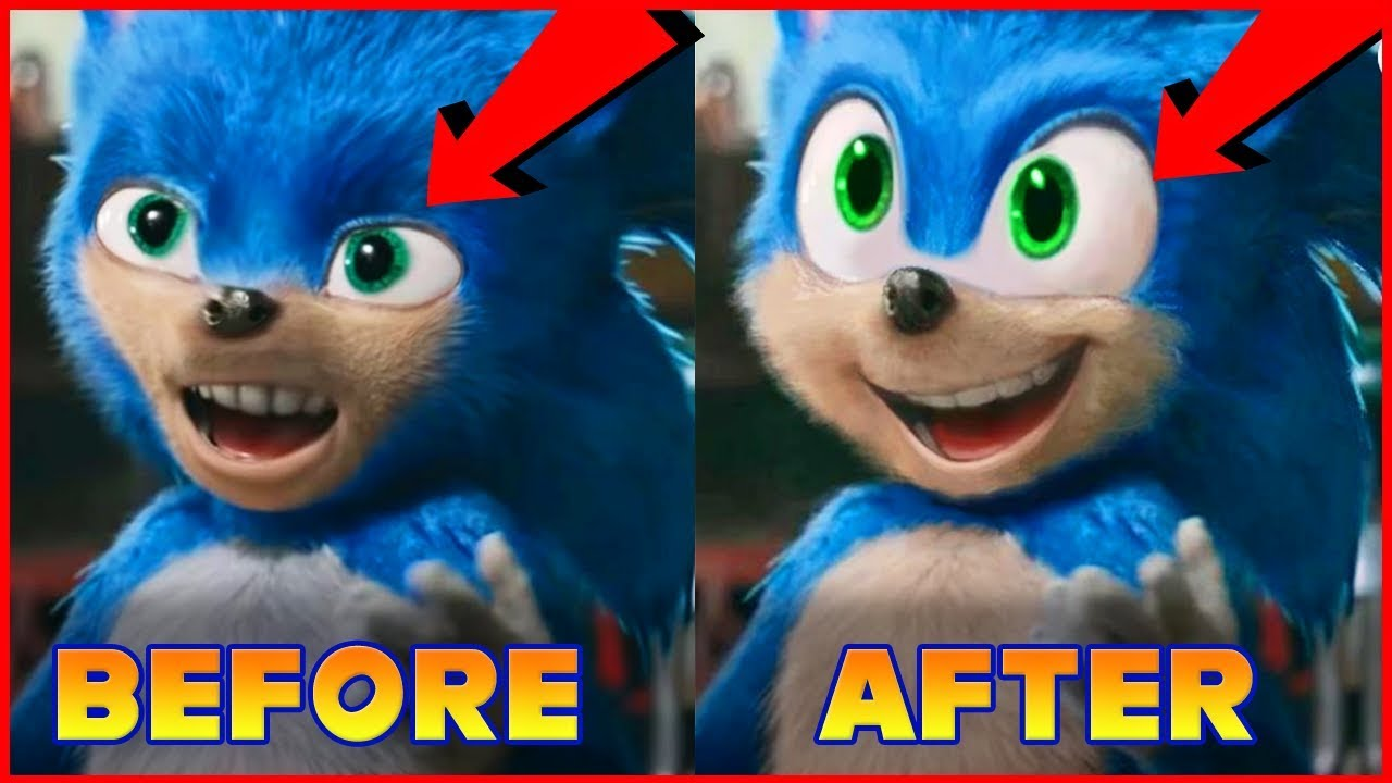 New Sonic Movie 2019 Trailer Reaction Sonic Looks Stupid Whole Movie Must Be Re Made Youtube