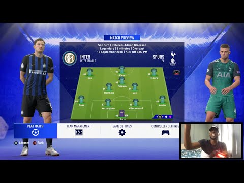 EXPRESSIONS ROAD TO THE CHAMPIONS LEAGUE FINAL: EPISODE 1 INTER MILAN VS SPURS (RE-UP)