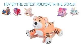 Toddler Rocking Horses   Plush Rocking Animals   Plush Rockers For Toddlers