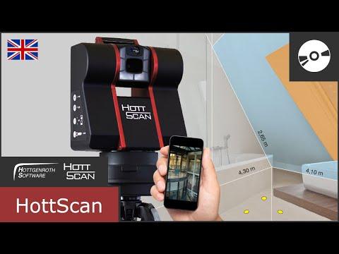 HottScan - 3D Room Survey In 2 Minutes