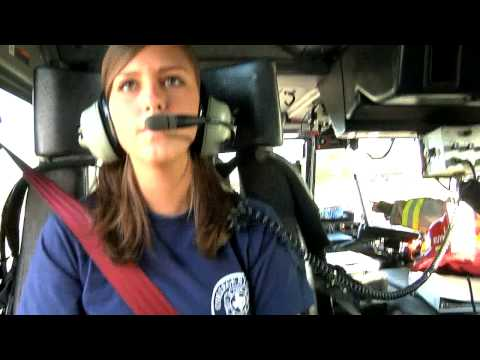 Audrey On The Job - Fire Department
