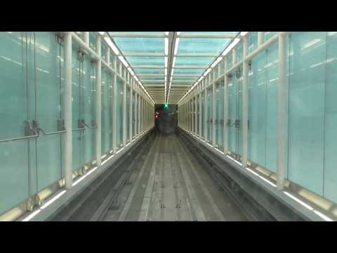 Riding the Aerotrain at Washington Dulles International Airport
