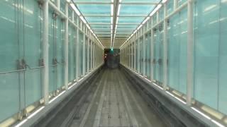 Riding the Aerotrain at Washington Dulles International Airport
