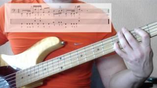 слэп. урок на бас гитаре