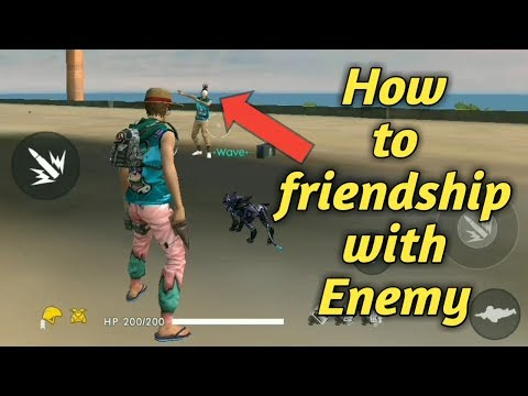 How To Team Up With Enemy | Garena Free Fire