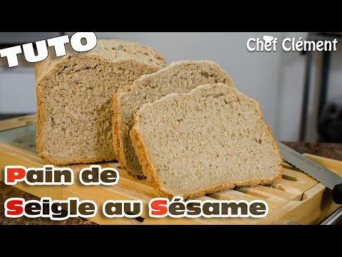 recette-map-|-machine-à-pain-:-pain-de-seigle-au-sÉsame---chef-clément