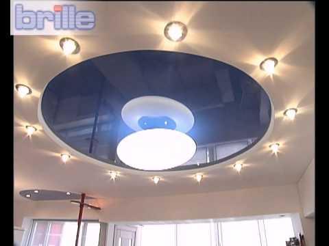 """Оригинальная подсветка от ТМ """"Brille"""" в квартире-студии"""