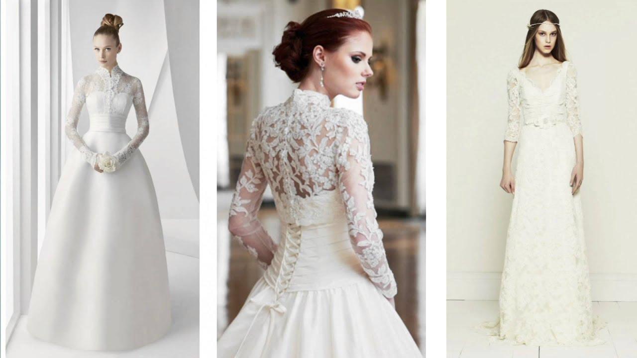 Useful Info On Choosing Winter Wedding Dress - YouTube