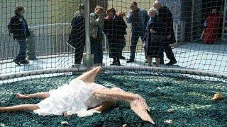 Падший ангел в реальной жизни упала с небаЛондон ( подделка или реальная )