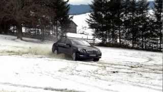 Mercedes Benz W212 E350CDI 4Matic BlueEfficiency- Snow Drift / WATCH-FullHD/HD