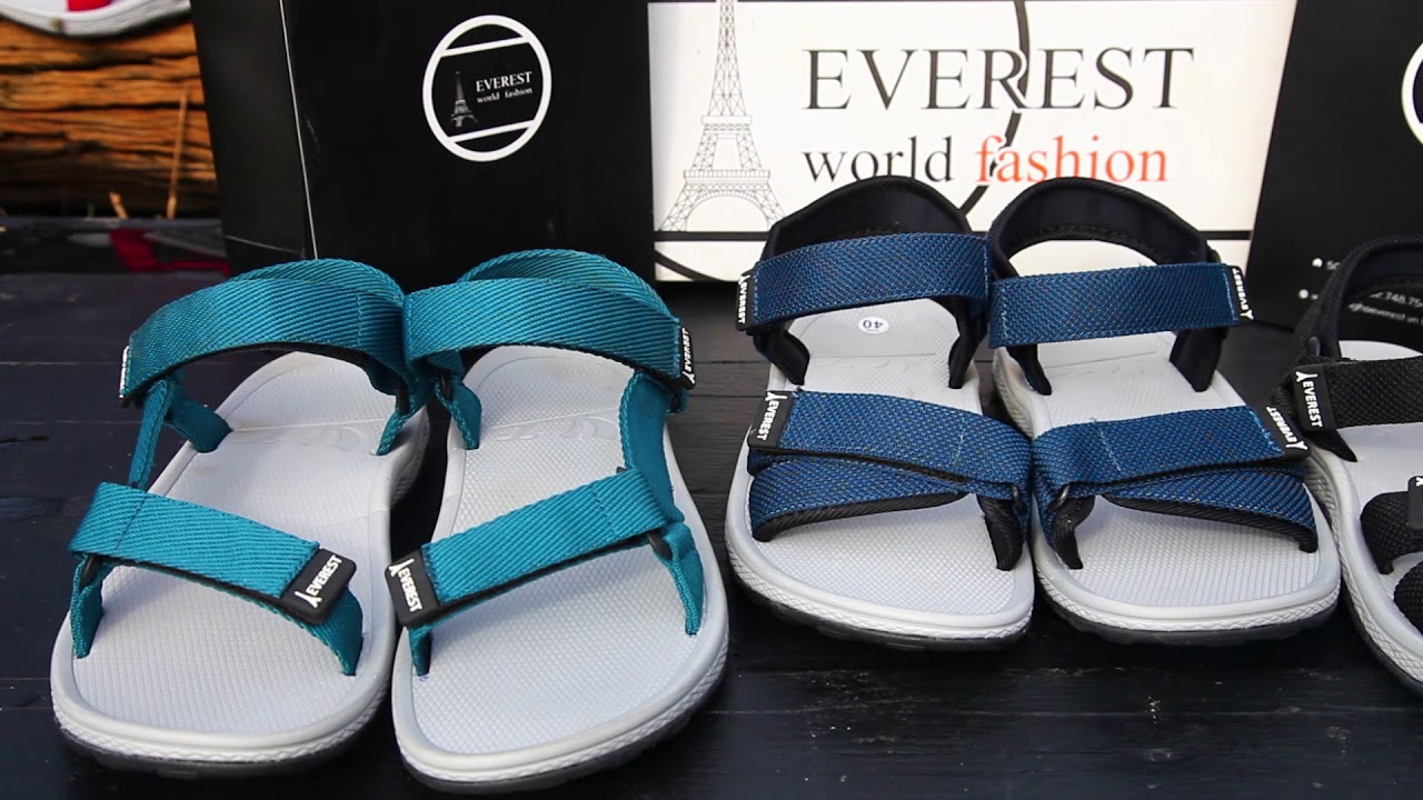 Giày sandal nam cao cấp xuất khẩu thời trang Everest A563 -7- 2016EVR | Tổng quát các tài liệu về thời trang dép nam chi tiết