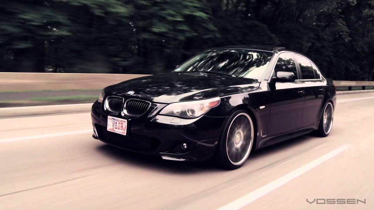 "Bmw Rims 22 Inch >> BMW 5 Series E60 on 20"" Vossen VVS-CV2 Concave Wheels / Rims - YouTube"