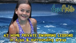 Ajax, Ontario at home private swimming lessons
