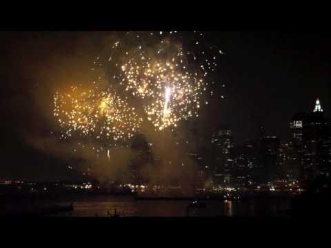 East River Fireworks - June 26, 2010