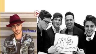 Me llamas remix - piso 21 ft Maluma lyrics (letra)
