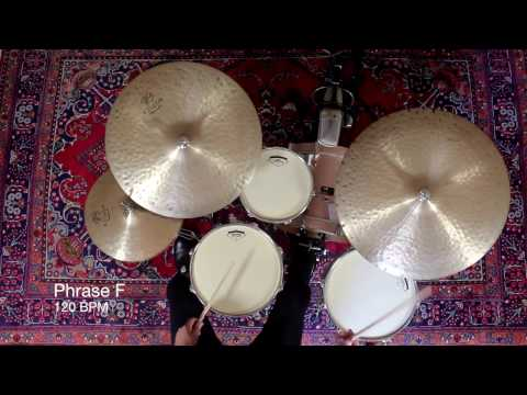 Introduction To Jazz Drumming - Part 6: 3/4 Comping Phrases