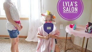 Lyla is a Beautician and Hair Stylist!?!