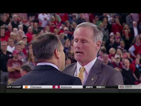Georgia vs Missouri Men's Basketball Coaches Fight