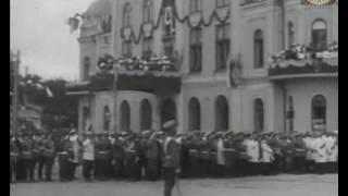 Киев  1911 г  Освящение памятника Александру II в присутствии императора Николая II 30 08 1911 г