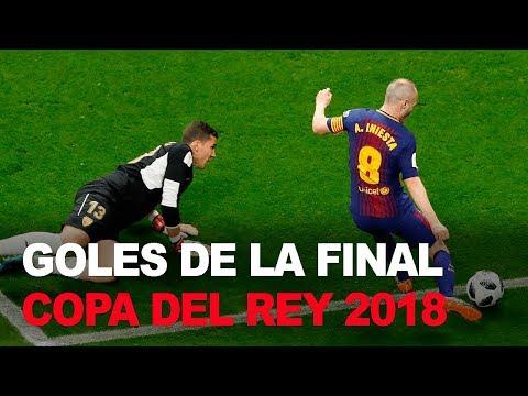 Iniesta rememora su último gol y su última final con el Barcelona
