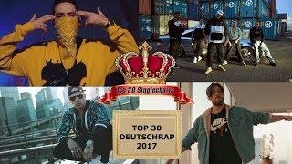 TOP 30 Deutschrap Single Charts 2017
