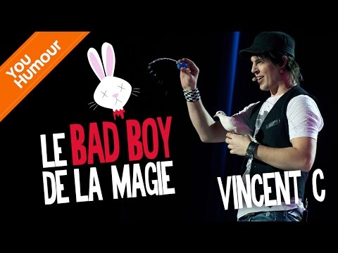 VINCENT C -  Le Bad Boy de la Magie.