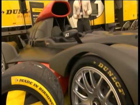 Dunlop Motorsport Hyrdogen car trailer