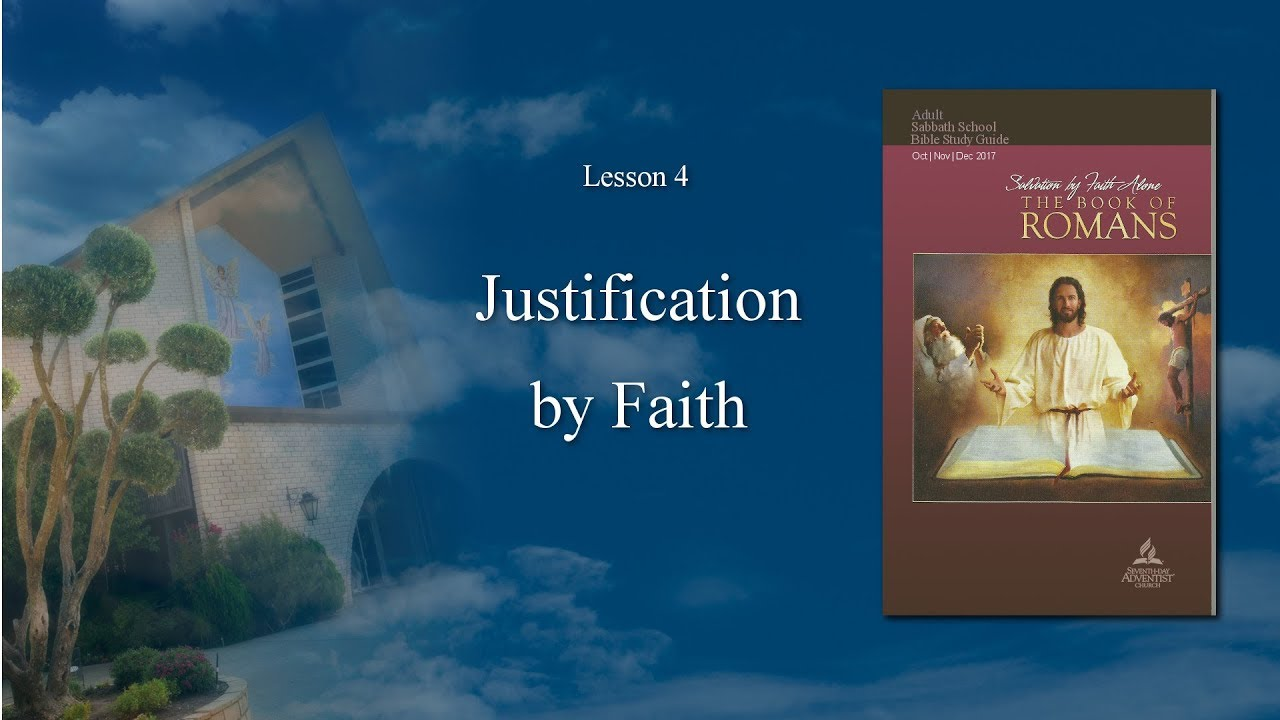 an analysis of the justification of faith in the book of romans Romans chapter four declares that justification is obtained by faith welcome, visitor | login/register learn the bible home antioch church ltb university.
