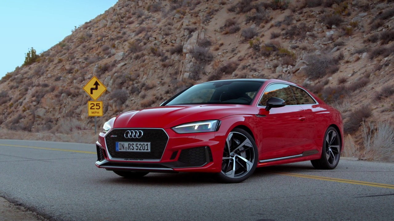 2018 audi rs5 coupe video debut youtube. Black Bedroom Furniture Sets. Home Design Ideas