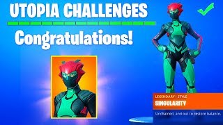 UTOPIA SKIN is REVEALED FORTNITE SEASON 9 - SECRET SKIN CONFIRMED (FREE REWARD SINGULARITY SKIN)