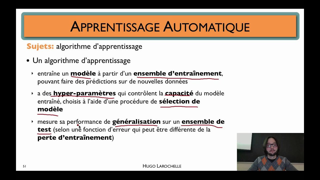 apprentissage automatique  1 9    concepts fondamentaux
