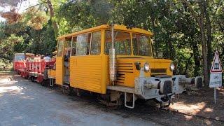 Du Verdon-Pointe de Grave à Soulac-sur-Mer par le train touristique P.G.V.S.  août 2015